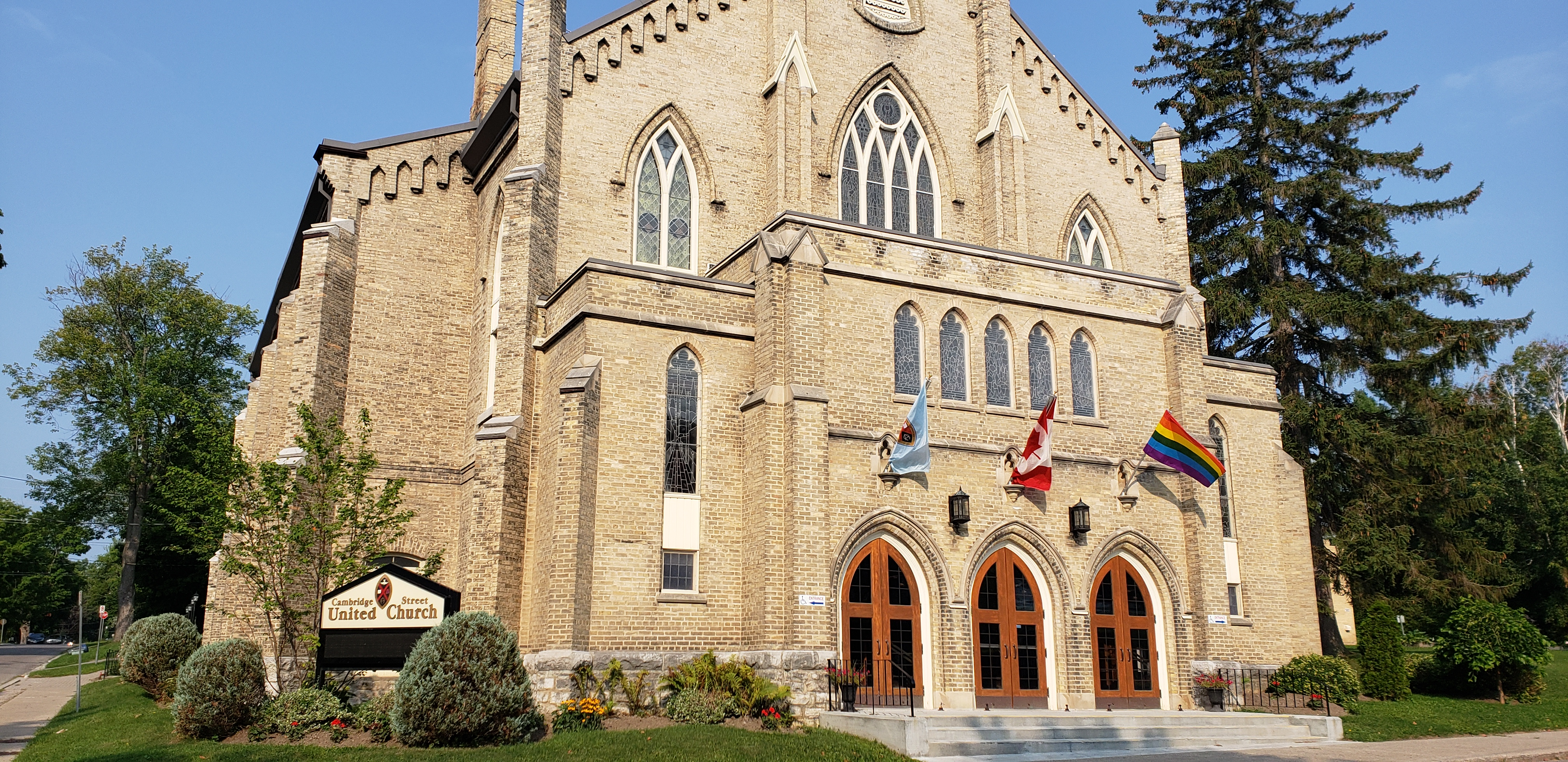 Cambridge Street United Church in Lindsay, Ontario