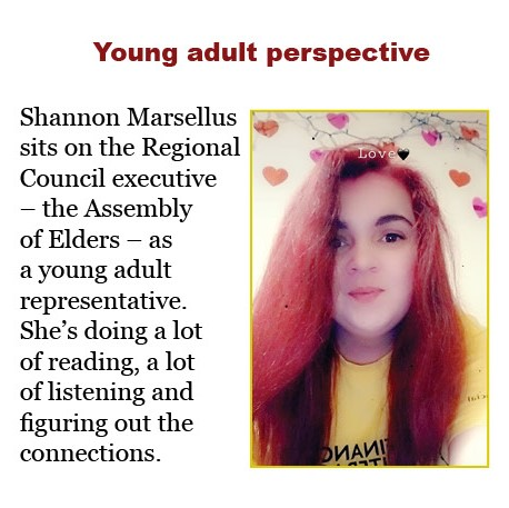 Young adult perspective: Shannon Marsellus