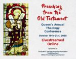 Brochure cover for Queen's theology conference